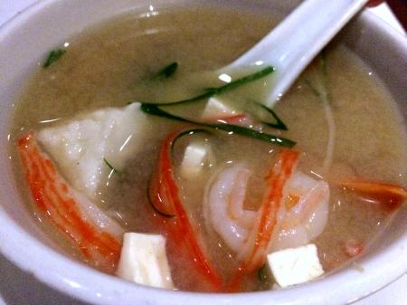 Seafood Miso
