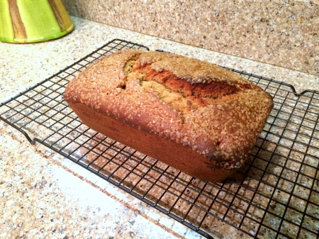 Stuffed Banana Bread