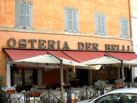 Osteria der Belli