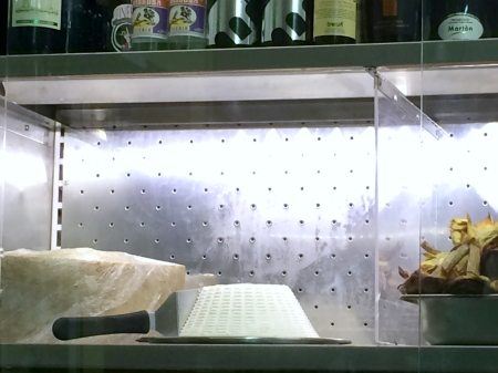 Ricotta in Display Case
