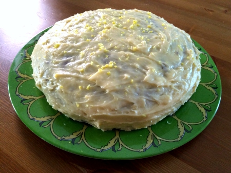 Carrot Cake with Creamed Cheese Frosting
