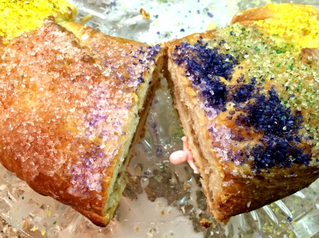 Baby in the King Cake