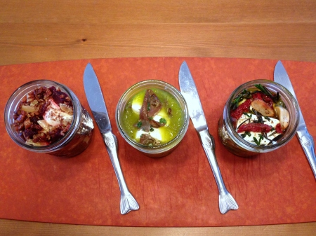 Goat Cheese Trio 1