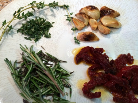 Herbs and Garlic