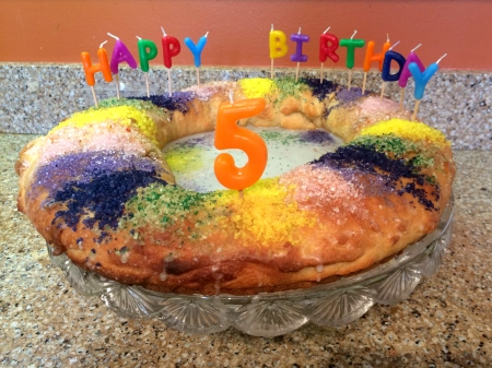 King Birthday Cake
