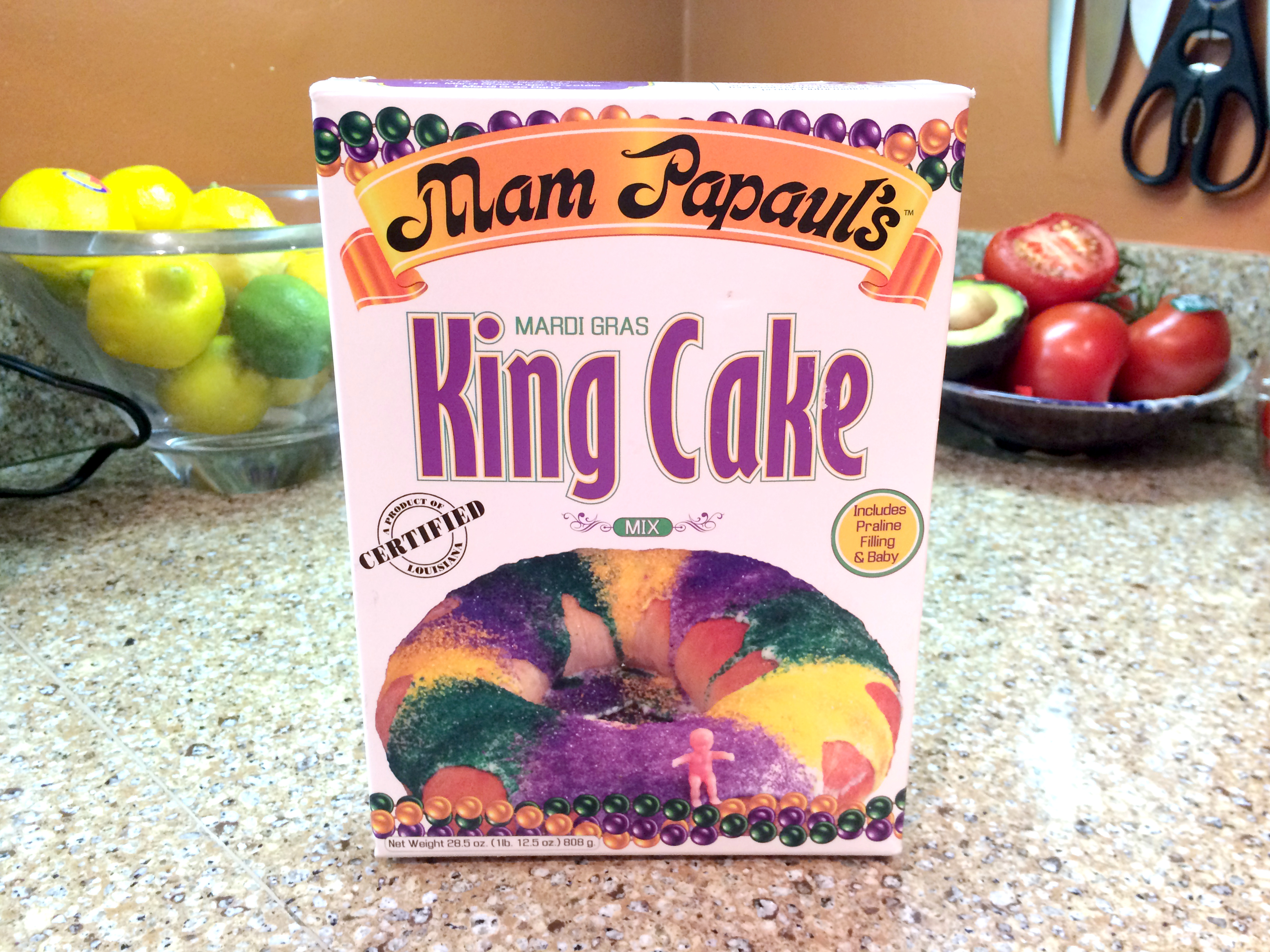 Mam Papaul S New Orleans King Cake Mix