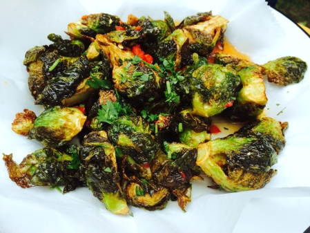 Brussel Sprouts with Fish Sauce
