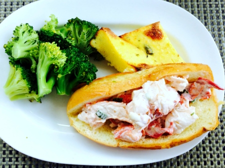 Legal Seafood Lobster Roll
