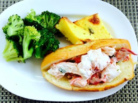 Legal Seafood Lobster Roll