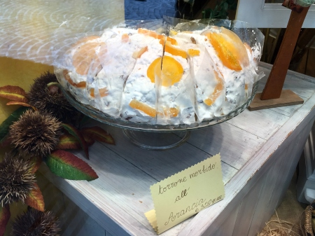 Torrone with Oranges