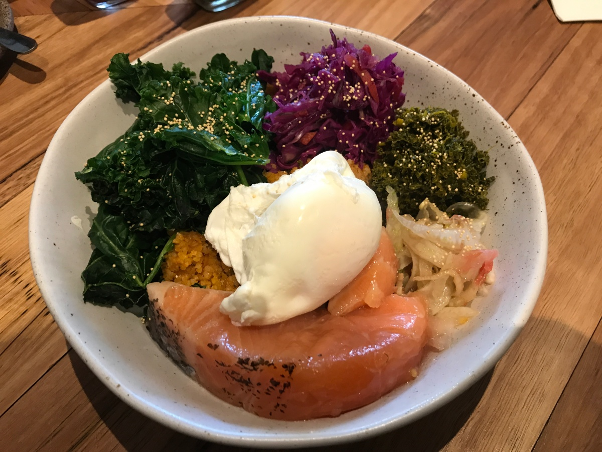 Fisherman's Grits Bowl // Bondi Hall, Bondi Beach, Sydney, AU